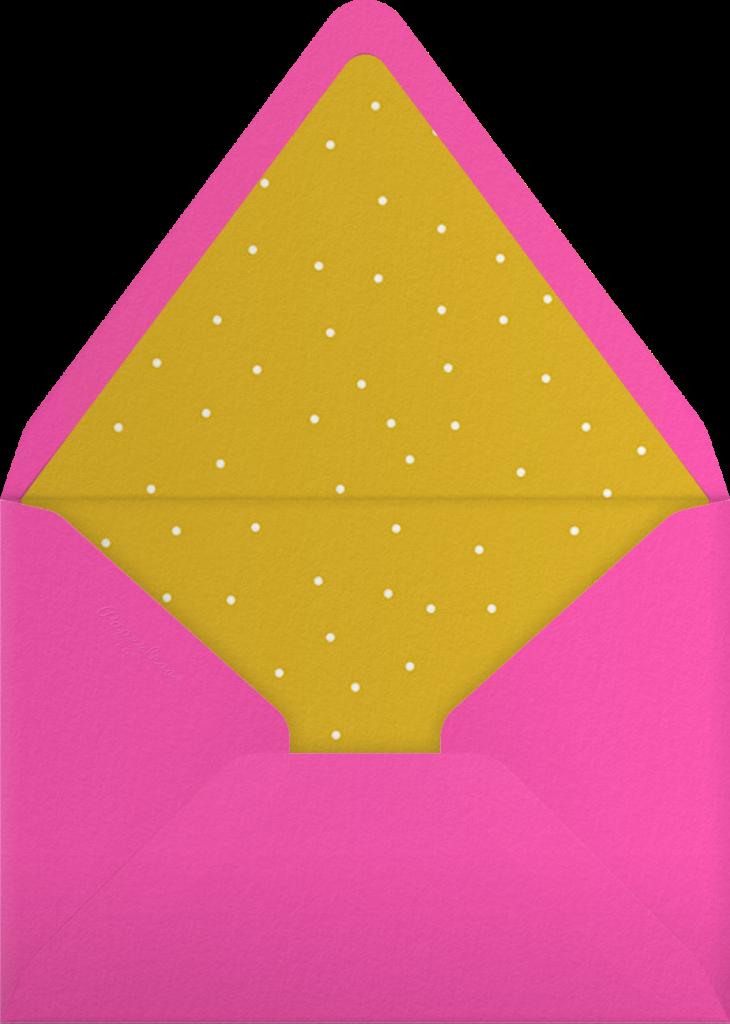 Gradient Full Horizontal - Pink - Paperless Post - Envelope