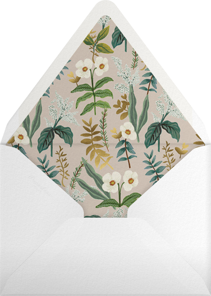 Meadow Garland (Invitation) - Rifle Paper Co. - Envelope
